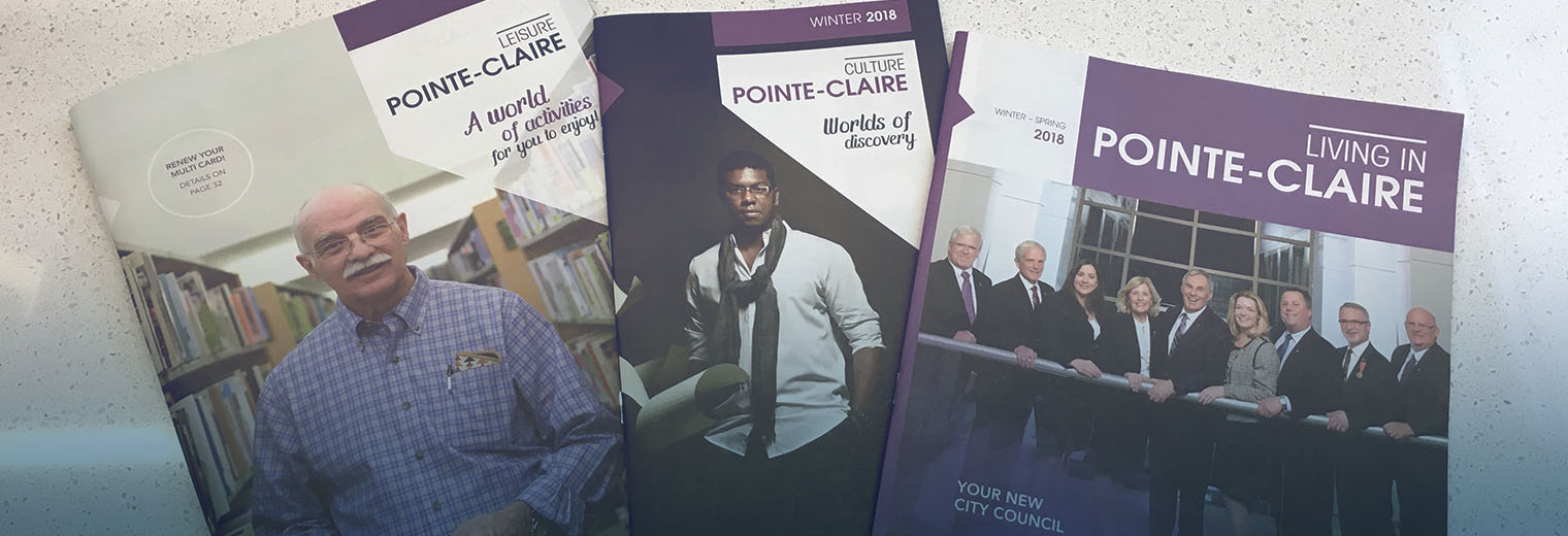 The winter 2018 city publications are now available ville de pointe claire for Pointe claire swimming pool schedule