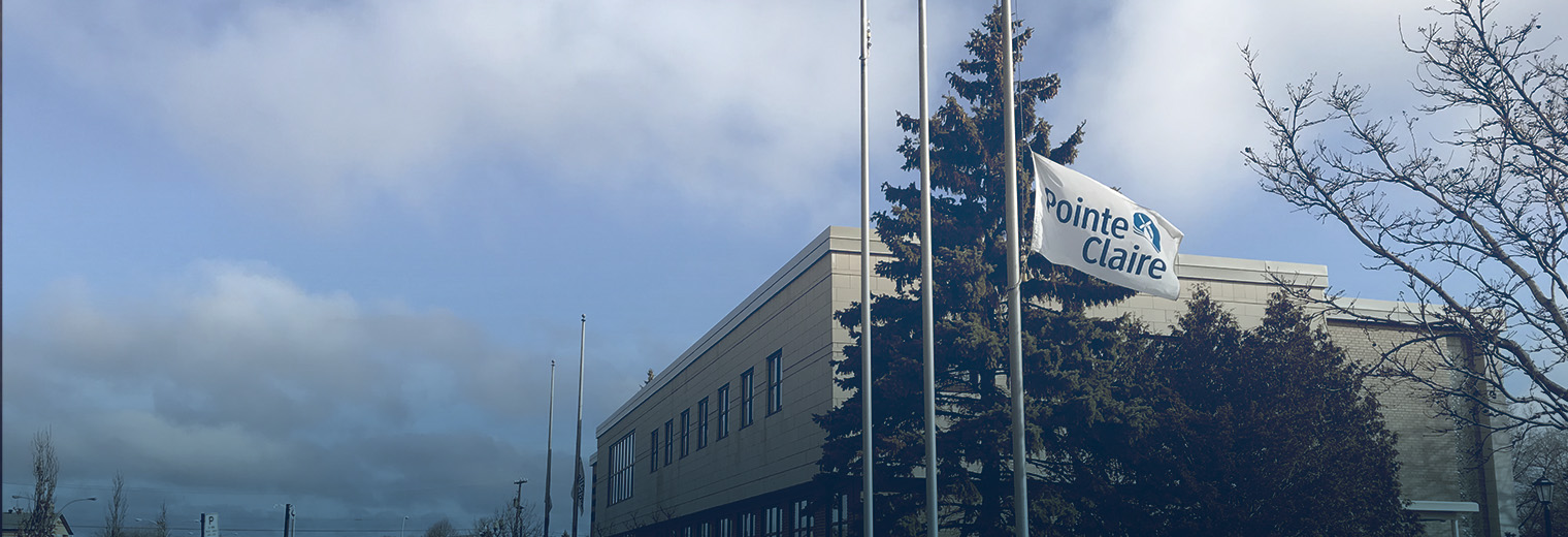 City Flags At Half Mast To Show Solidarity Ville De Pointe Claire